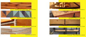 materiais que a teceart usa na fabricação de móveis planejados escritório